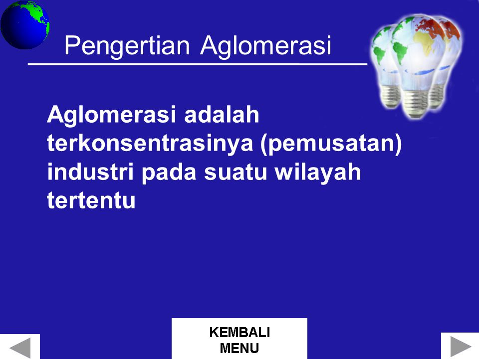 Pengertian Aglomerasi