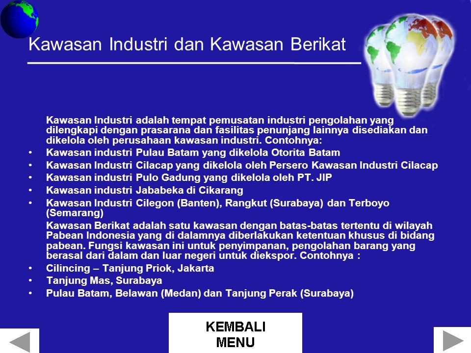 Kawasan Industri dan Kawasan Berikat