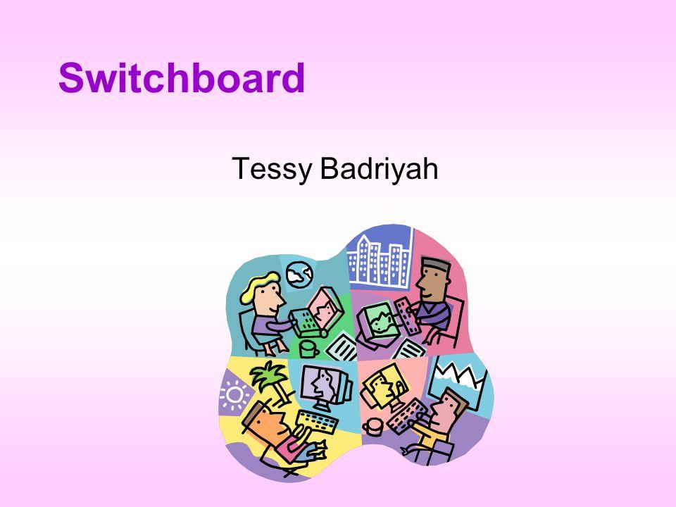 Switchboard Tessy Badriyah