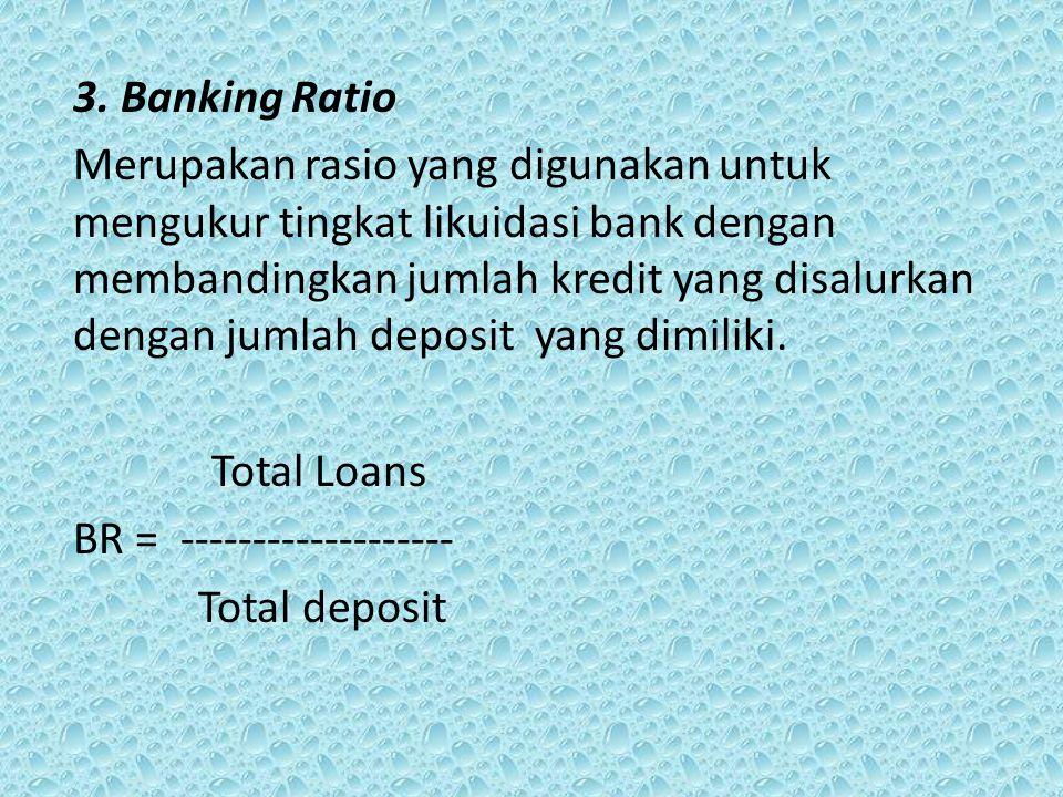 3. Banking Ratio