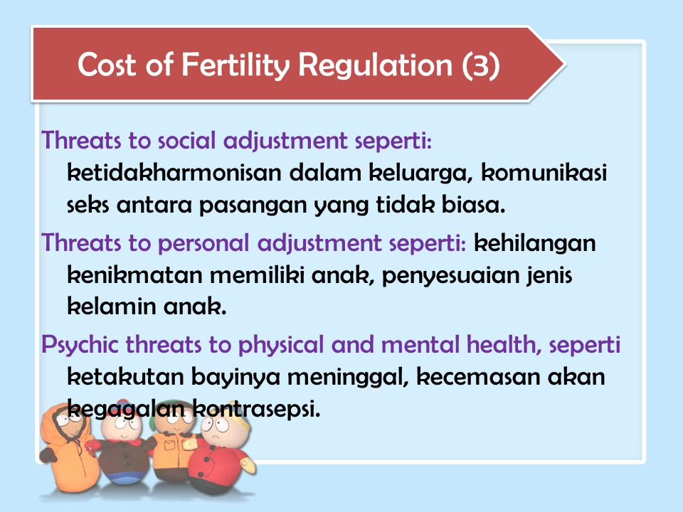 Cost of Fertility Regulation (3)