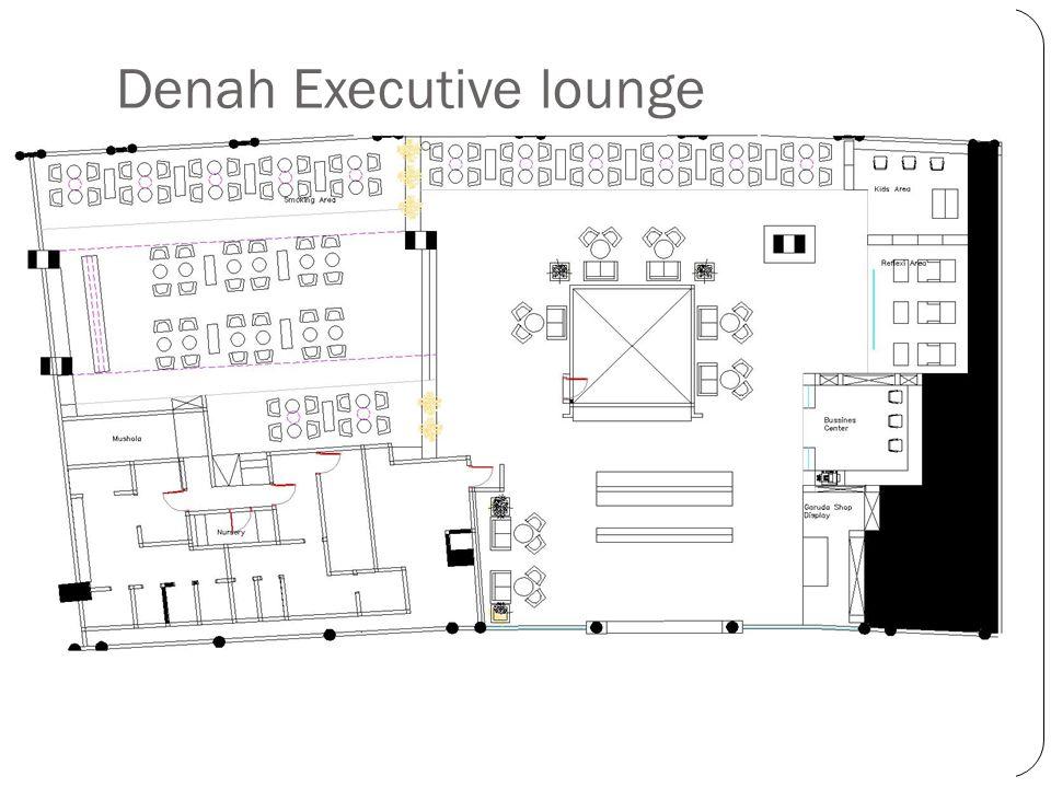 Denah Executive lounge