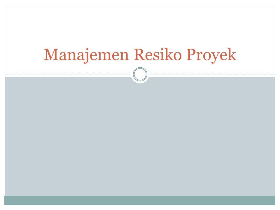 Manajemen Resiko Proyek
