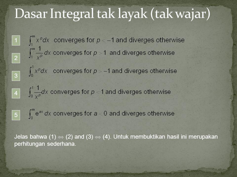 Dasar Integral tak layak (tak wajar)