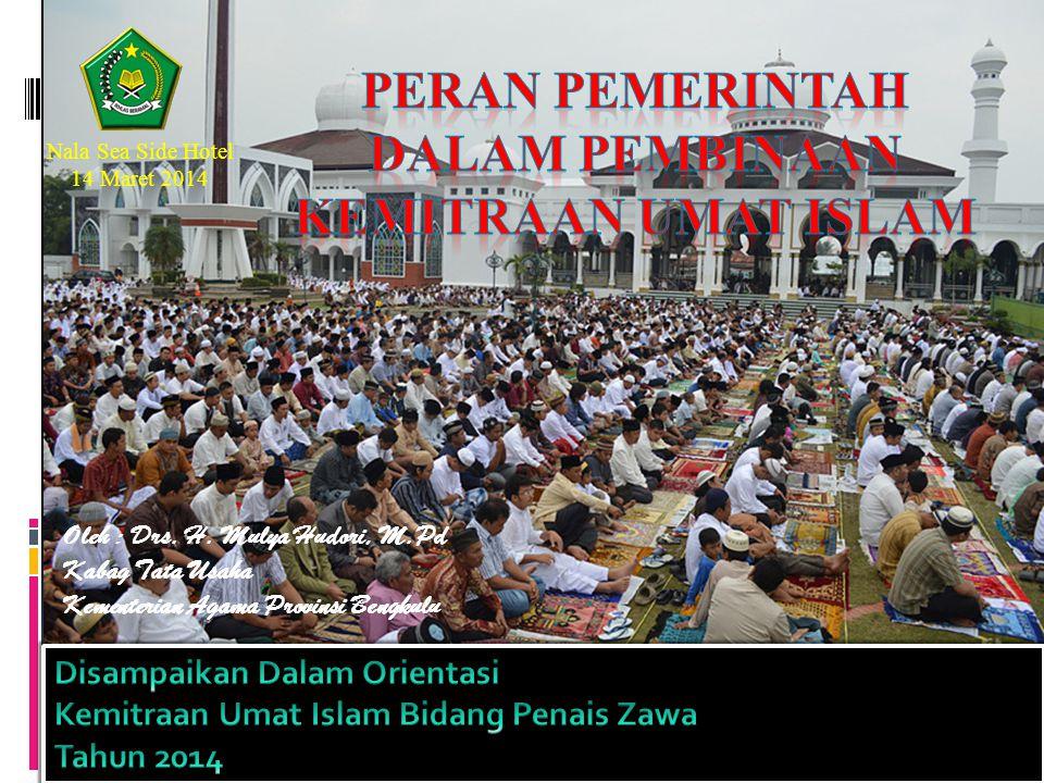 Peran pemerintah dalam pembinaan kemitraan umat islam