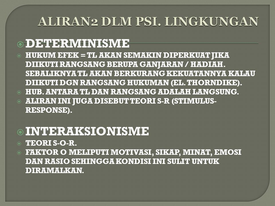ALIRAN2 DLM PSI. LINGKUNGAN