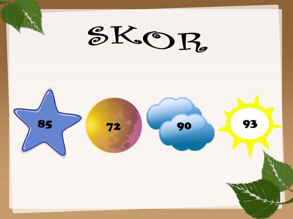 SKOR 85 93 72 90