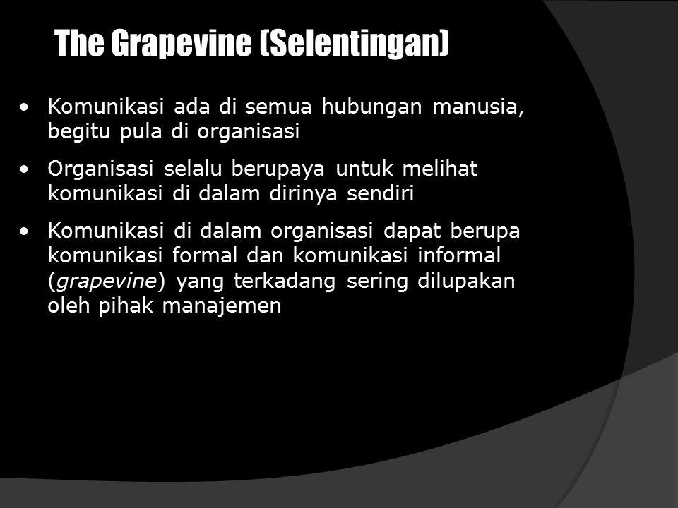 The Grapevine (Selentingan)