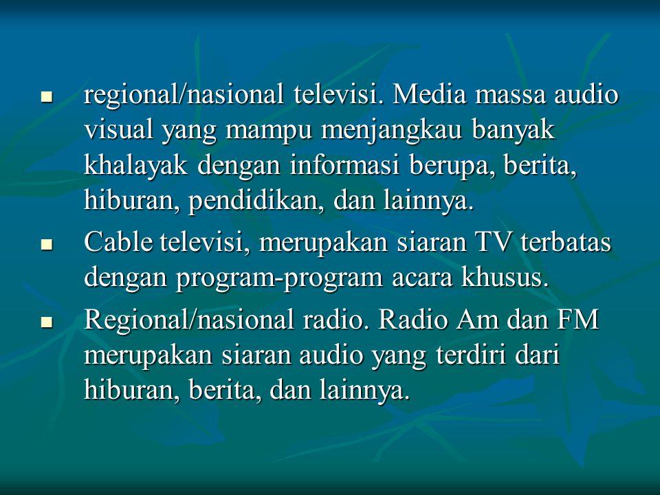 regional/nasional televisi