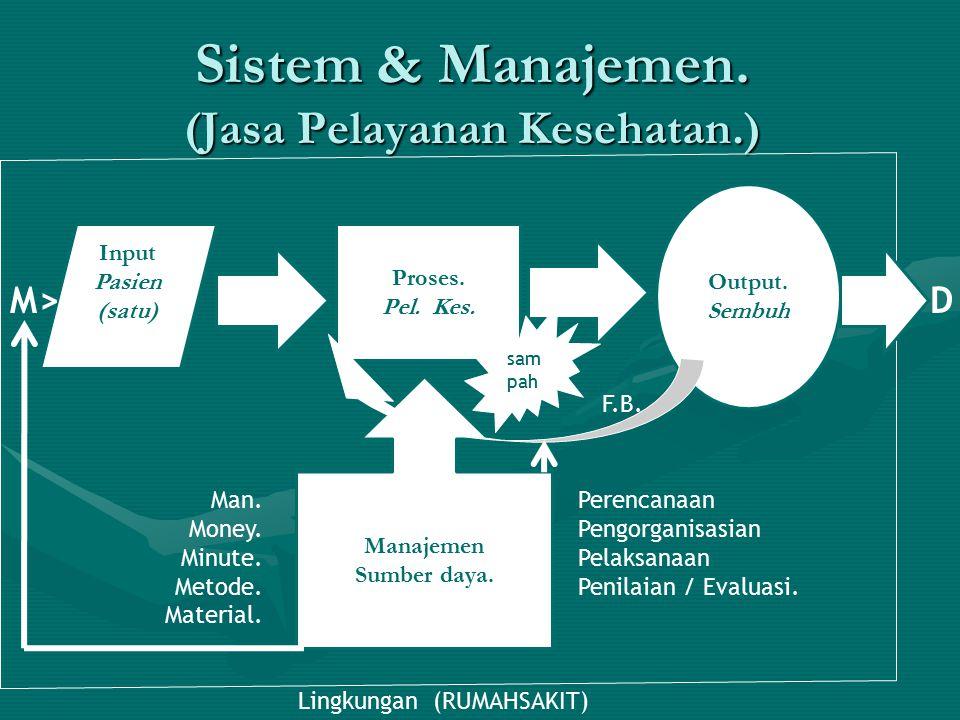 Sistem & Manajemen. (Jasa Pelayanan Kesehatan.)