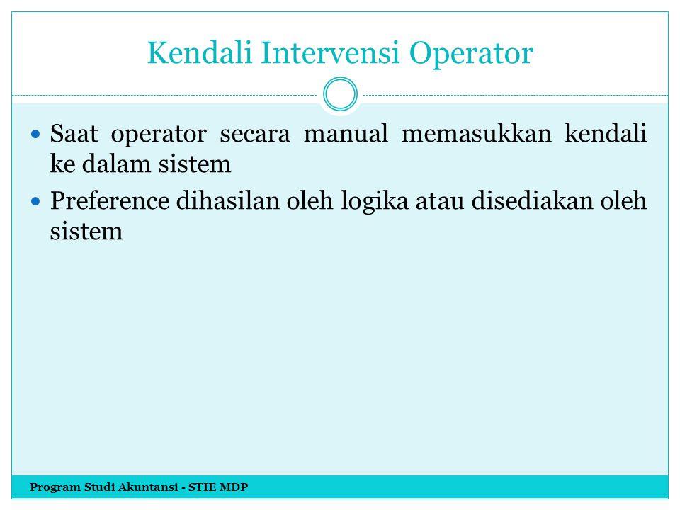 Kendali Intervensi Operator