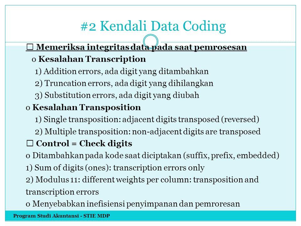#2 Kendali Data Coding