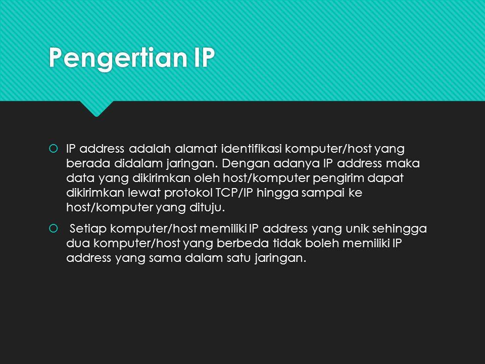 Pengertian IP