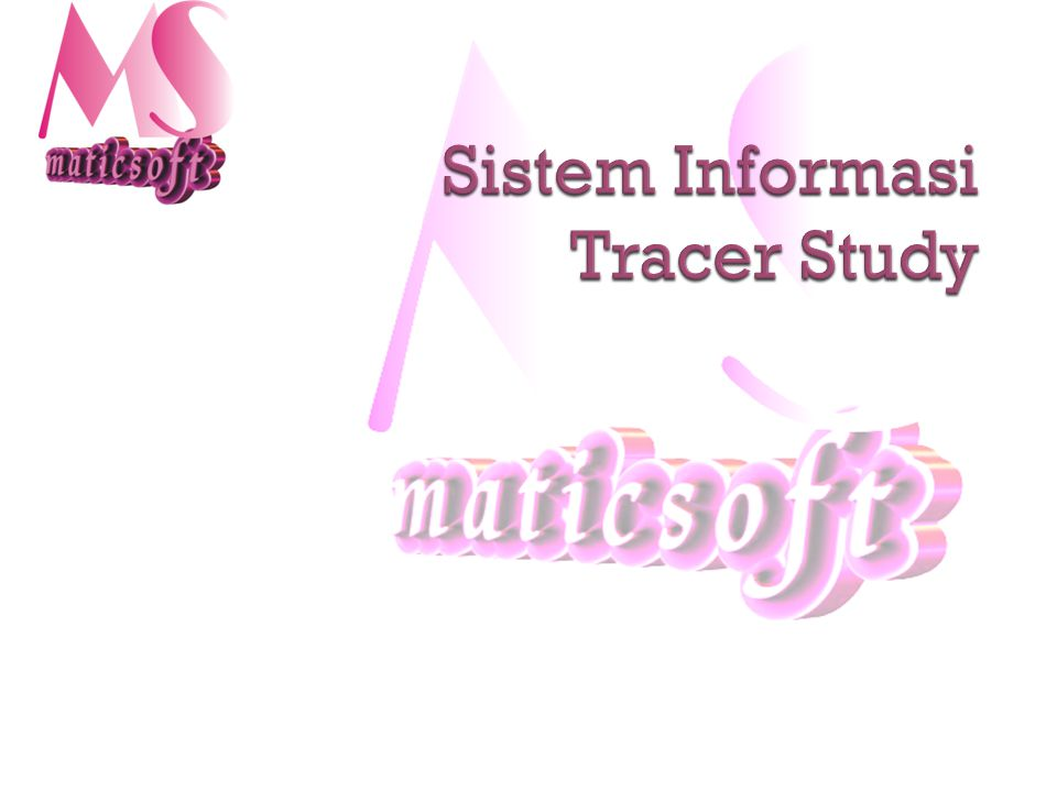 Sistem Informasi Tracer Study