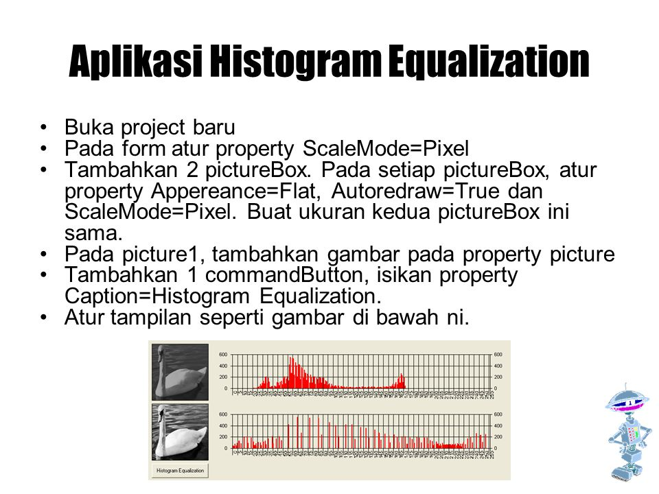 Aplikasi Histogram Equalization