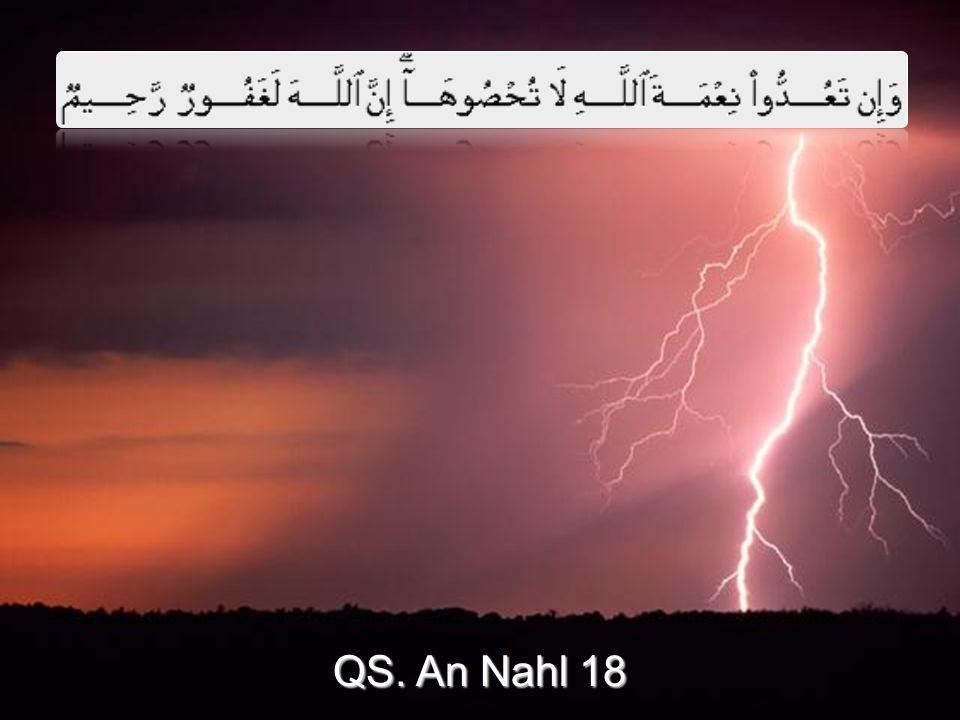 QS. An Nahl 18
