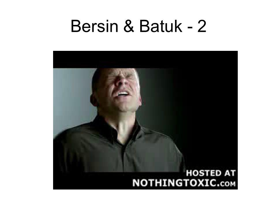 Bersin & Batuk - 2