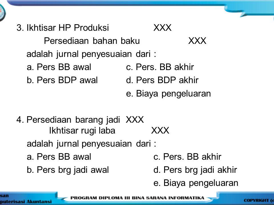 3. Ikhtisar HP Produksi XXX