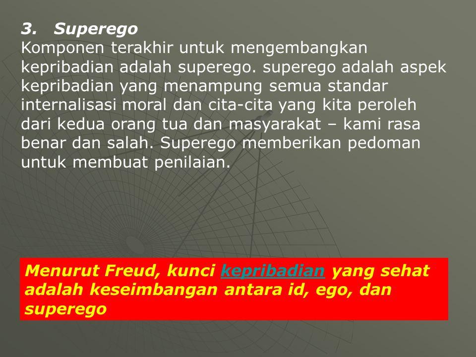 3. Superego