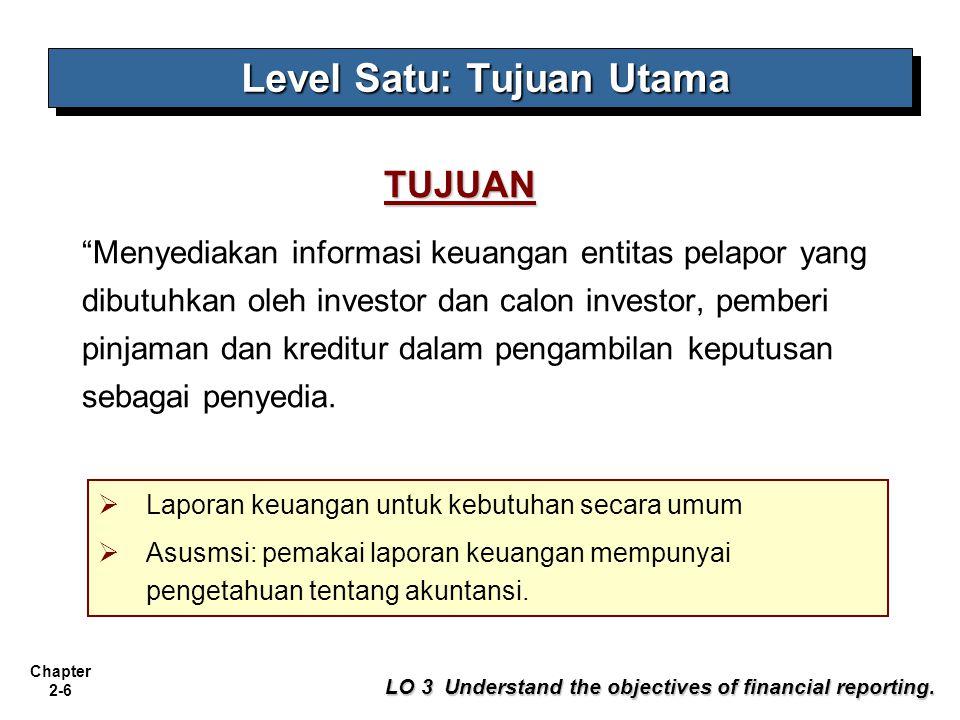 Level Satu: Tujuan Utama