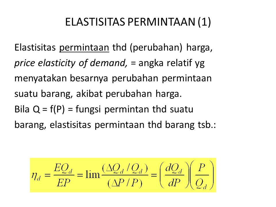 ELASTISITAS PERMINTAAN (1)