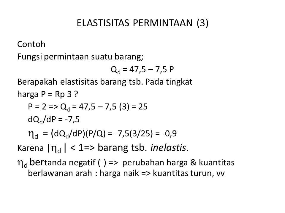 ELASTISITAS PERMINTAAN (3)