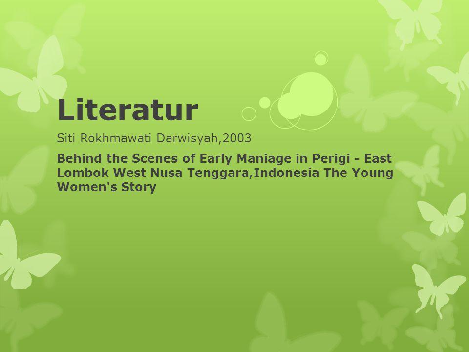 Literatur Siti Rokhmawati Darwisyah,2003