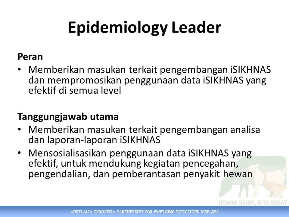 Epidemiology Leader Peran