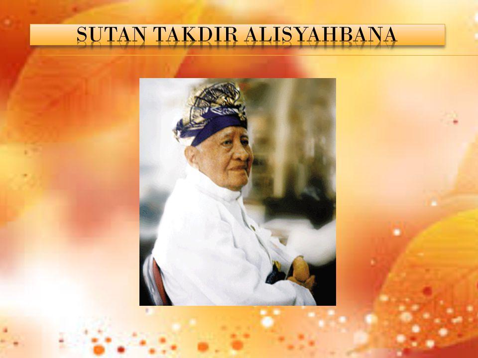 SUTAN TAKDIR ALISYAHBANA