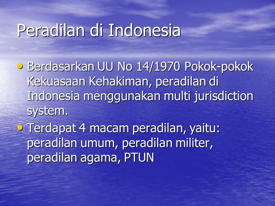 Peradilan di Indonesia