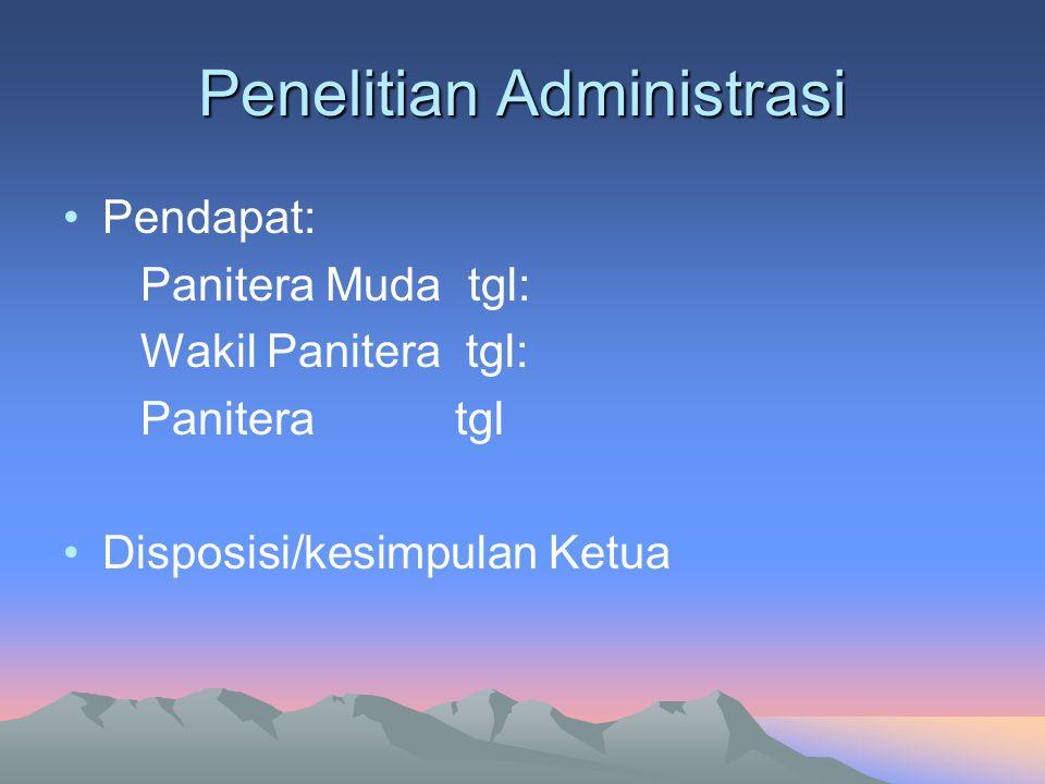 Penelitian Administrasi
