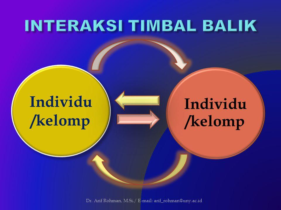 INTERAKSI TIMBAL BALIK