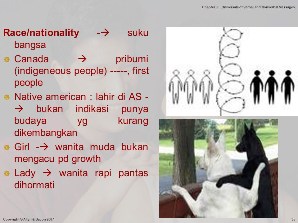 Race/nationality - suku bangsa
