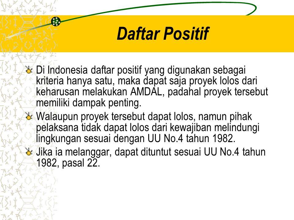 Daftar Positif
