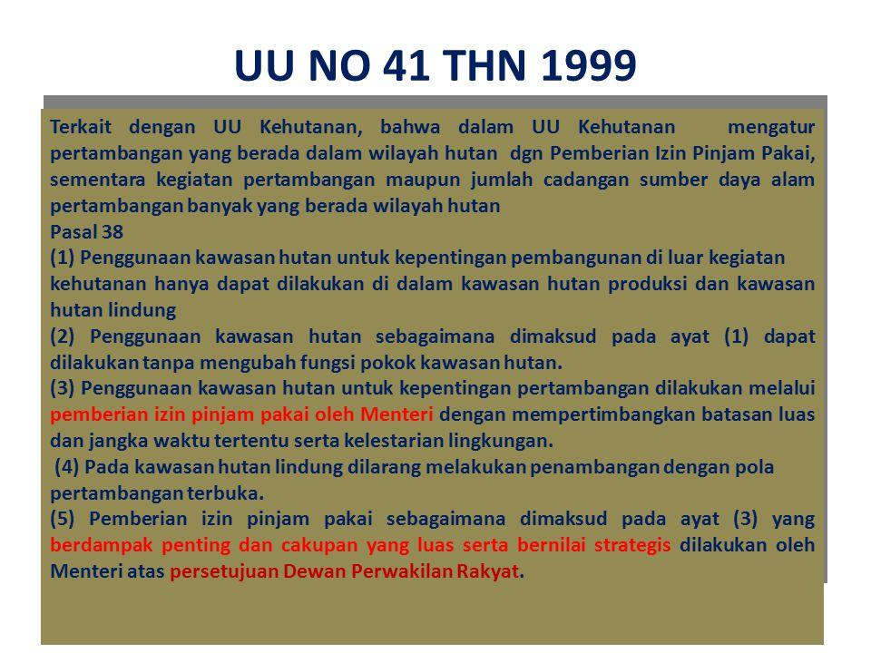 UU NO 41 THN 1999