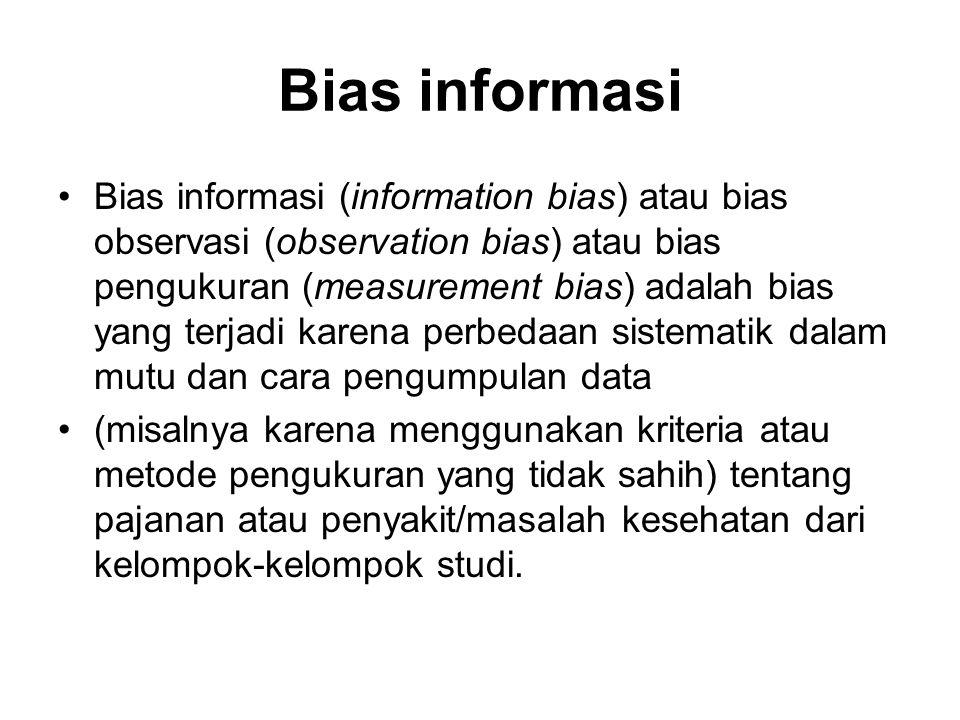 Bias informasi