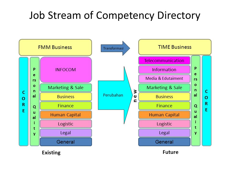 Job Stream of Competency Directory