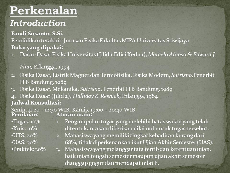 Perkenalan Introduction