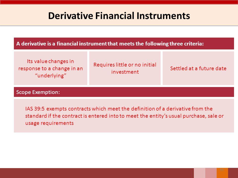 Derivative Financial Instruments
