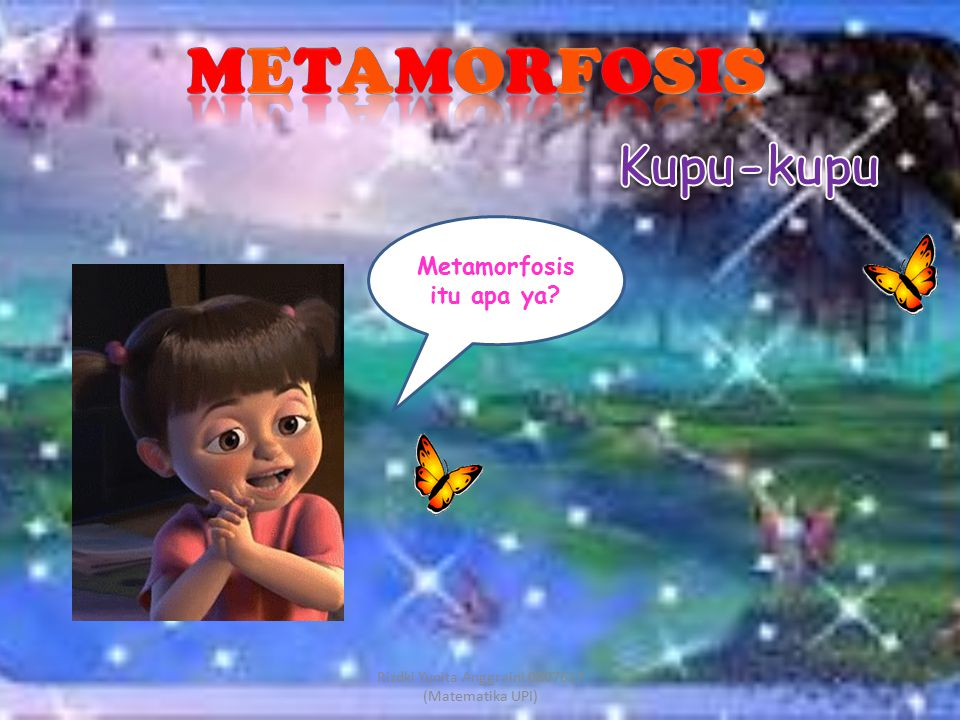 Metamorfosis itu apa ya