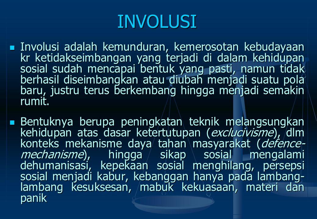 INVOLUSI