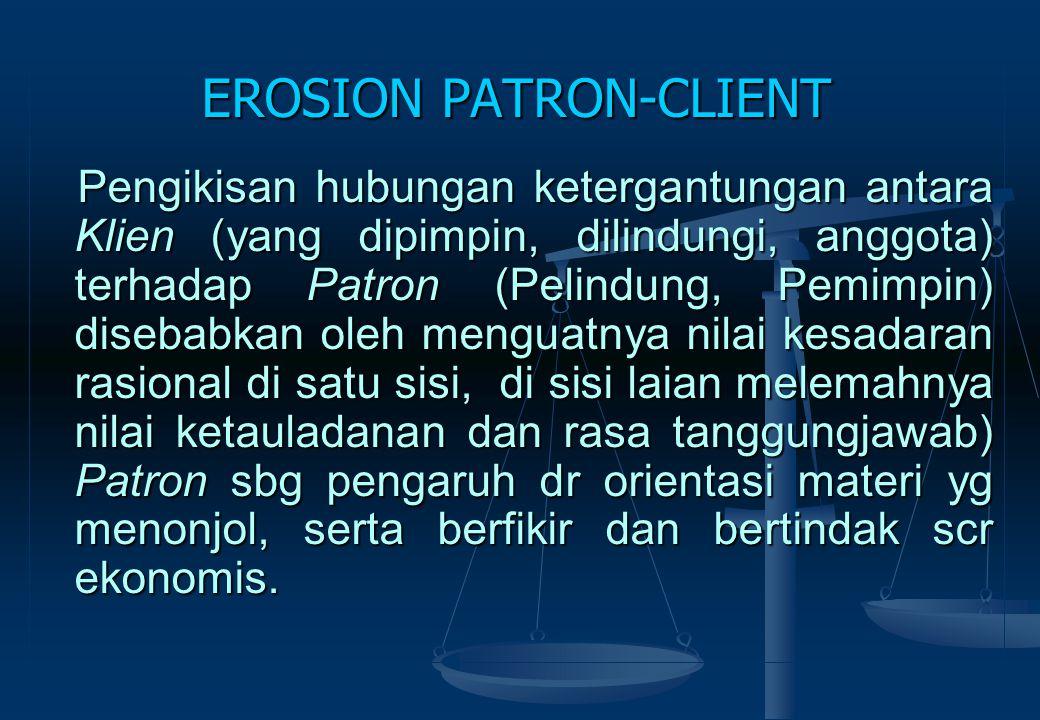EROSION PATRON-CLIENT