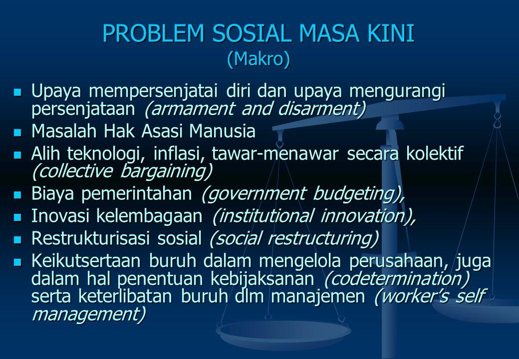 PROBLEM SOSIAL MASA KINI