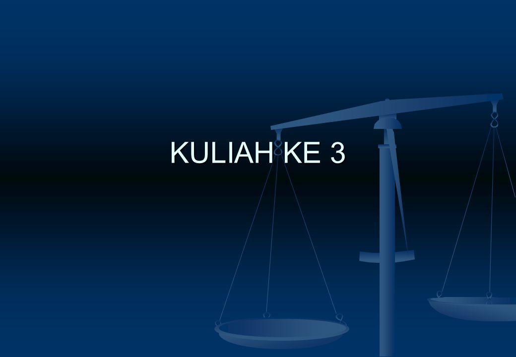 KULIAH KE 3