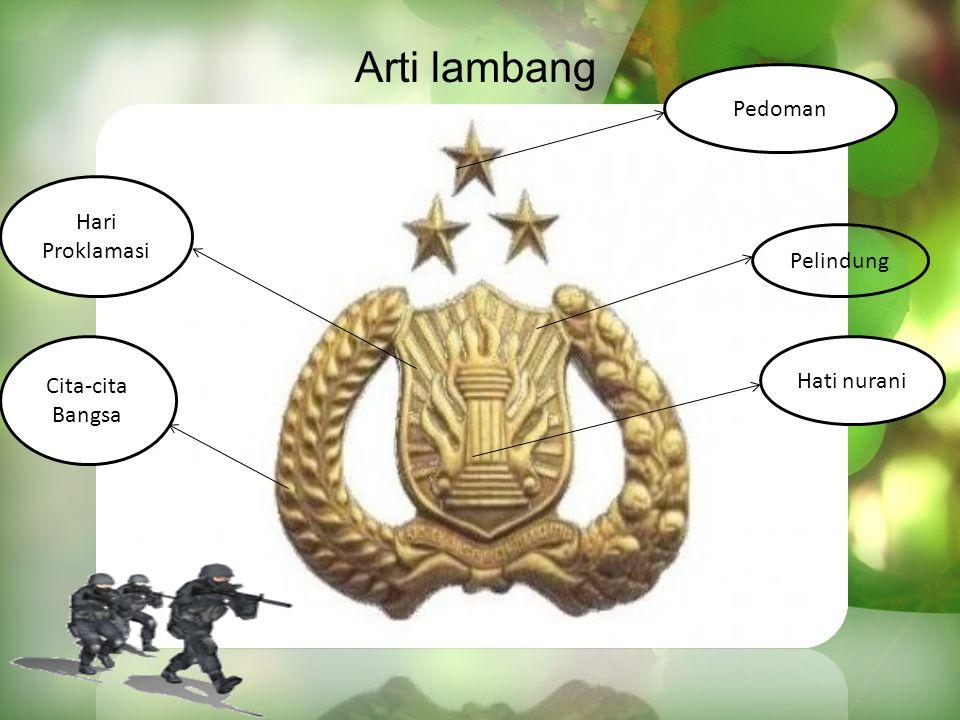 Arti lambang Pedoman Hari Proklamasi Pelindung Cita-cita Bangsa