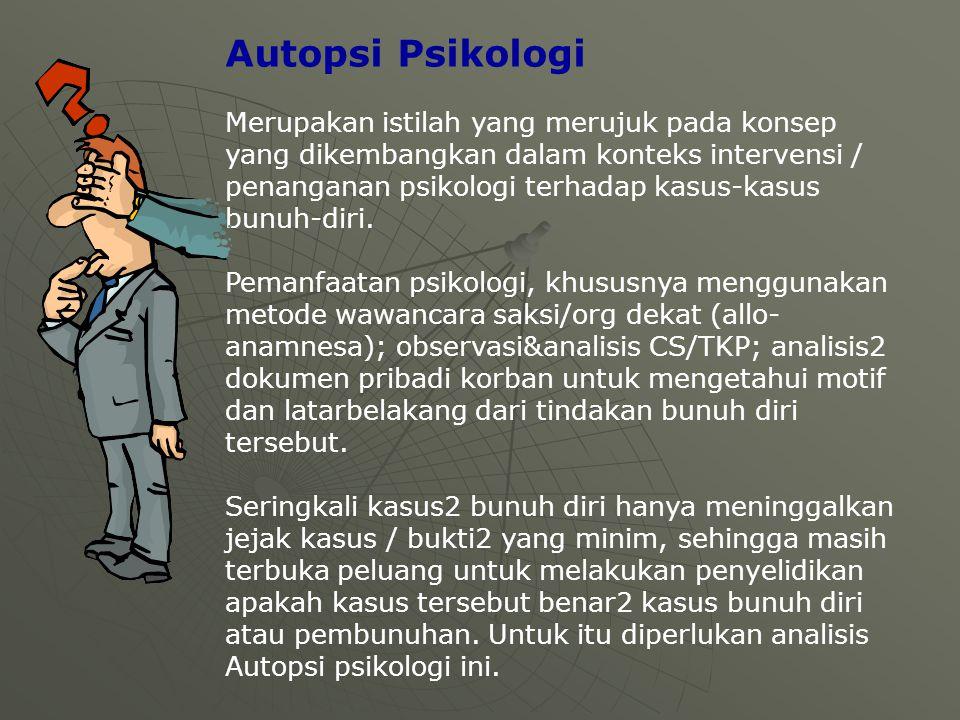 Autopsi Psikologi