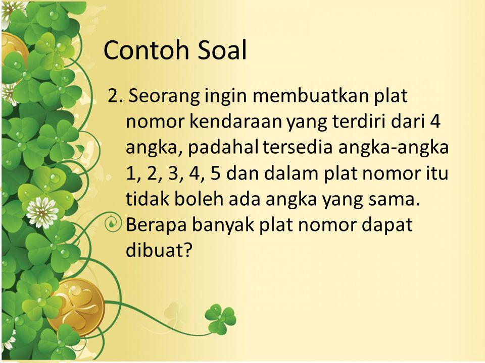 Contoh Soal