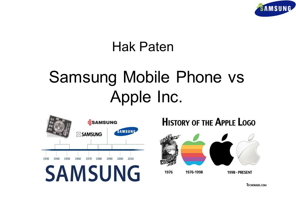 Samsung Mobile Phone vs Apple Inc.