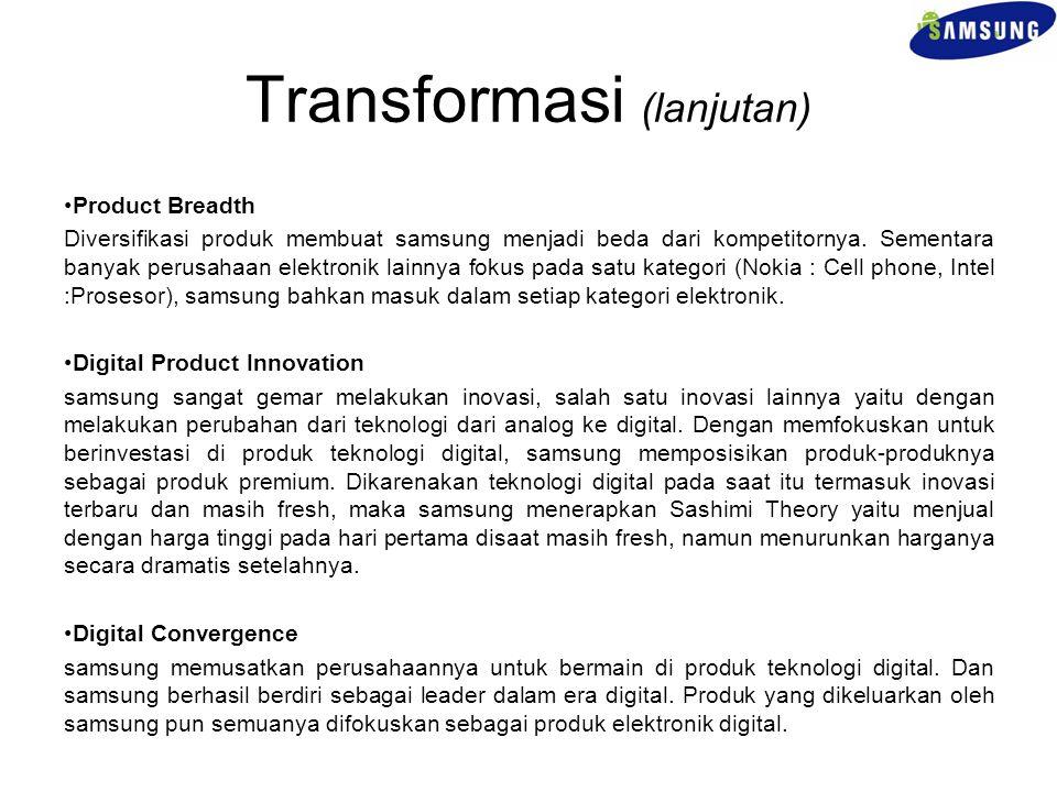 Transformasi (lanjutan)