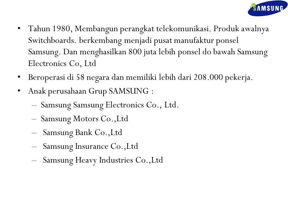 Tahun 1980, Membangun perangkat telekomunikasi